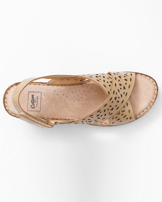 Flexi Wedge Cross Over Sandals