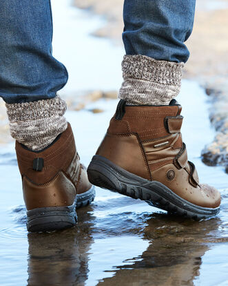 Waterproof Adjustable Walking Boots