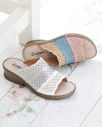 Cutwork Mules