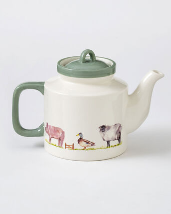 Country Farm Teapot