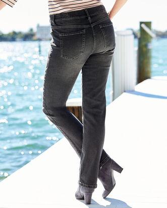 Side Elasticated Waist Jeans