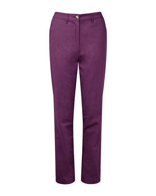 Wrinkle Free Adjustable Waist Trousers