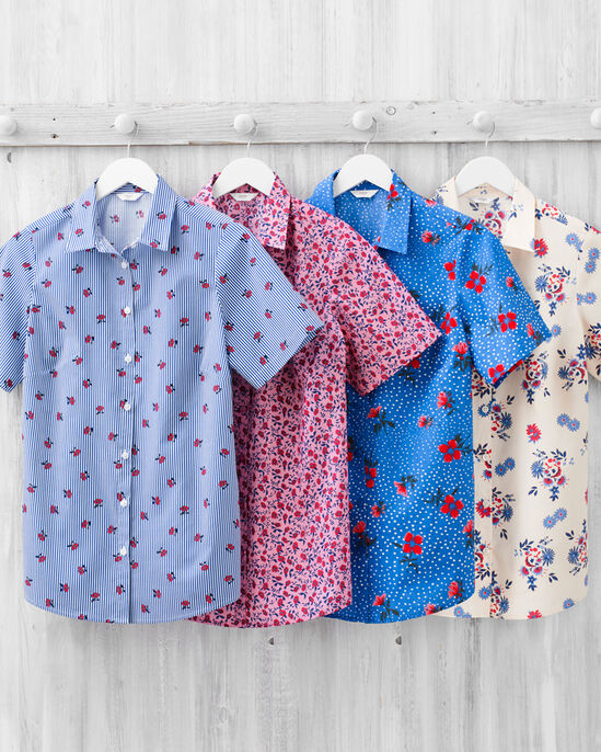 Wrinkle Free Short Sleeve Shirt