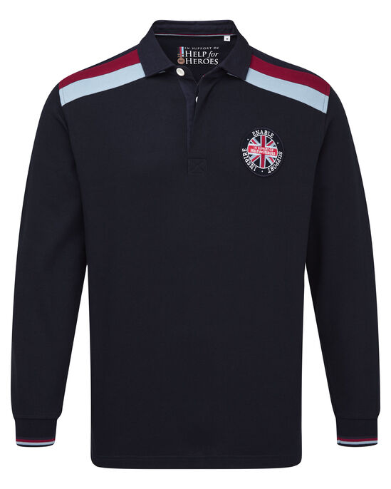 Help For Heroes Long Sleeve Rugby Shirt