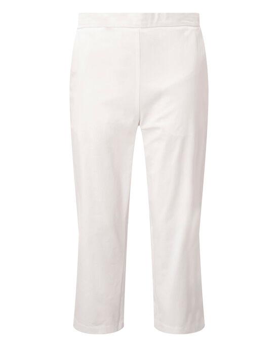 Stretch Crop Trousers