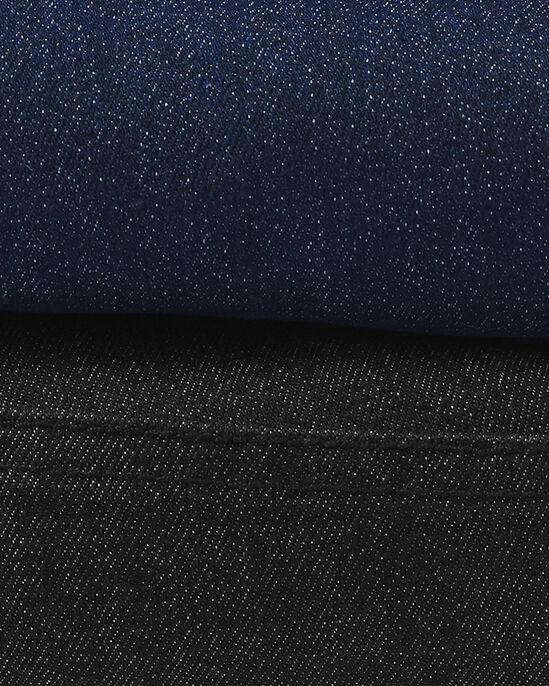 Premium Pull-on Rib Waist Jeans (Denim)