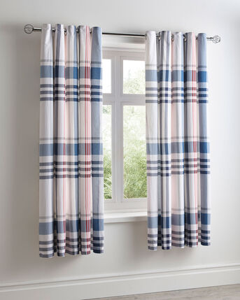 Portland Cotton Eyelet Curtains