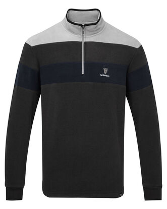 Guinness Fleece Half Zip Top