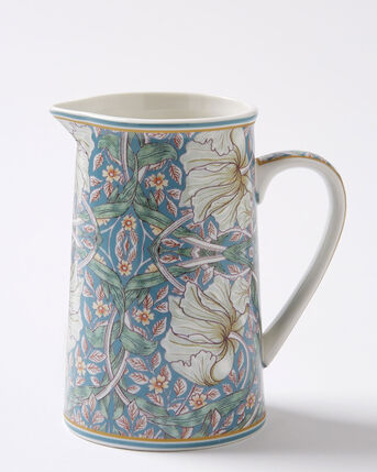 William Morris Pimpernel China Jug