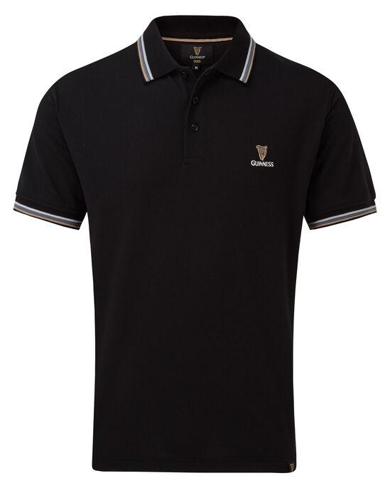 Guinness Ripple Collar Polo Shirt