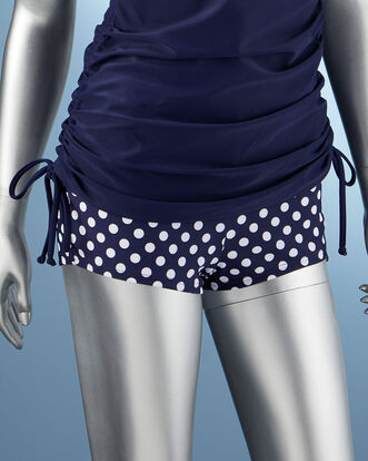 Tummy Control Printed Swim Shorts