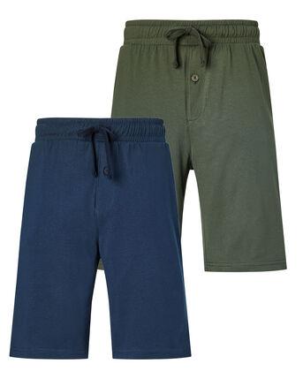 Pack of 2 Loungewear Shorts
