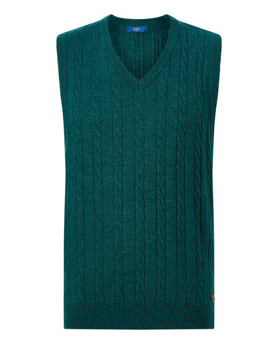 Luxury Soft Touch Cable Tank Top