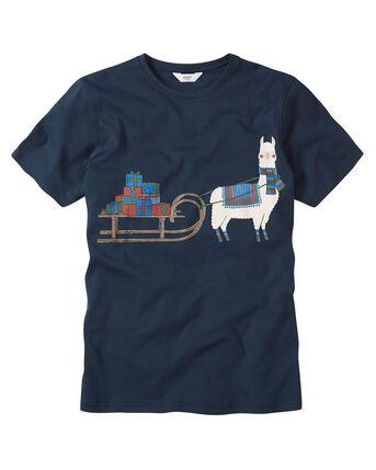 Printed Crew Neck T-Shirt