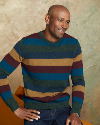 Lambswool Rich Jumper Stripe