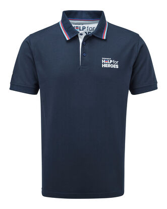 Help For Heroes Ribbed Collar Polo Shirt