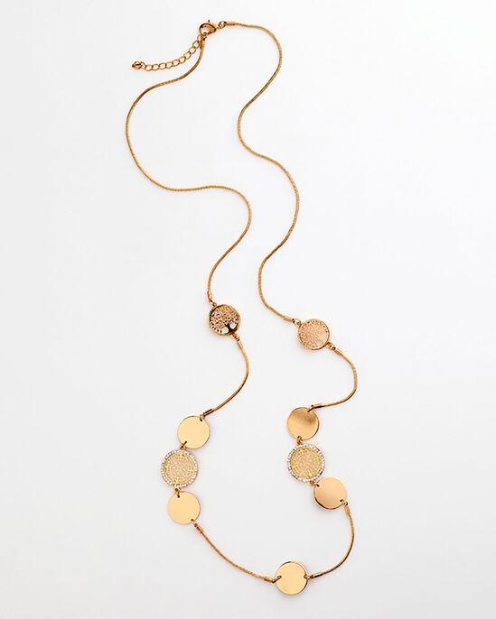 Disc Detail Necklace
