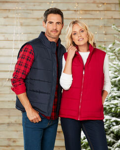 Showerproof Fleece Lined Gilet