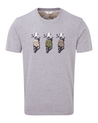 Grey Marl Adventure T-shirt