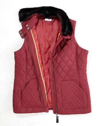 Detachable Faux Fur Gilet