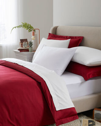 400TC Cotton Sateen Duvet Set