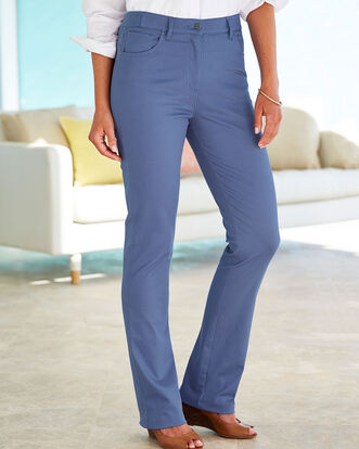 Magic Comfort Slim Bootcut Jeans