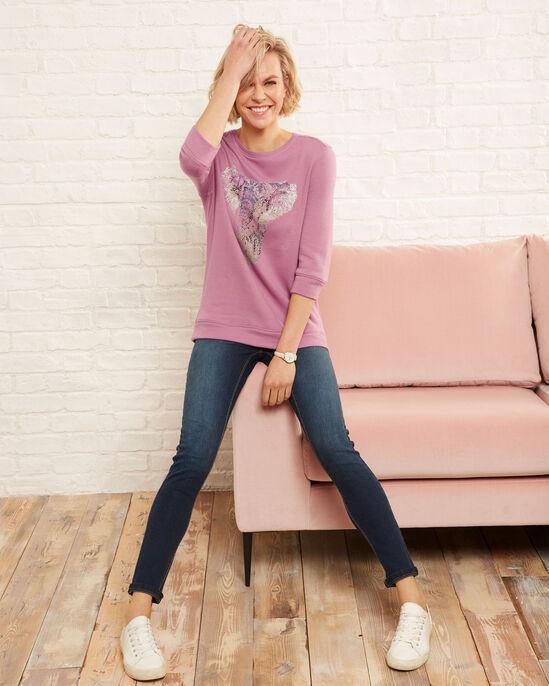 Elephant Print Sweatshirt
