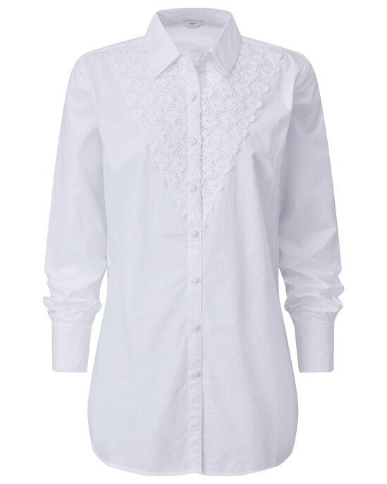 Crochet Front Shirt