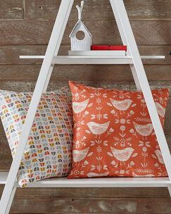 Skandi Orange Cushion