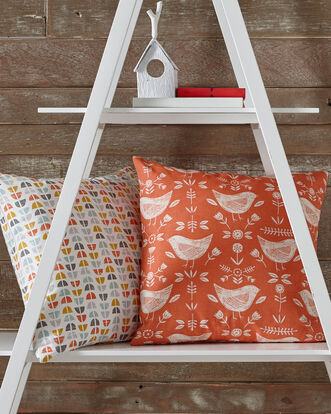 Skandi Orange Cushion