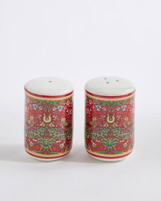 William Morris Strawberry Thief Salt and Pepper Set