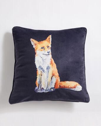 Velvet Watercolour Cushion