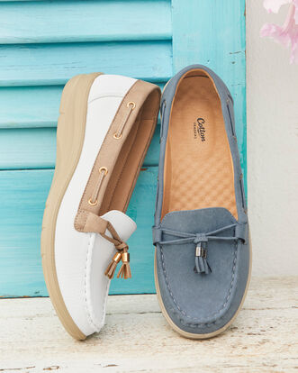 Flexisole Tassle Loafers