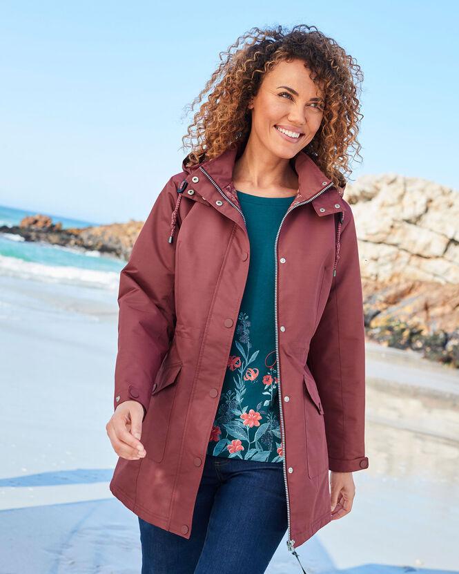 Women's Jackets for All Seasons | Waterproof Fleece Lined Jacket | By Cotton Traders