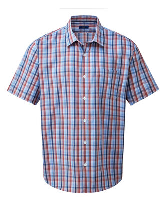 Multi Short Sleeve Classic Oxford Shirt