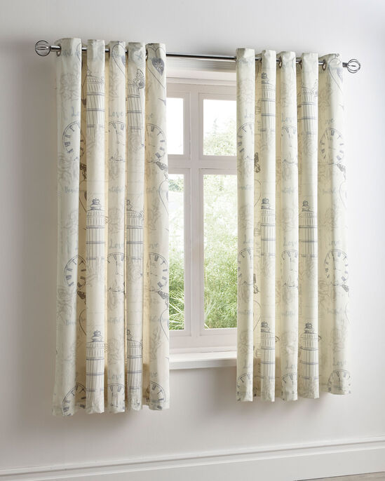 Birdcage Eyelet Curtains