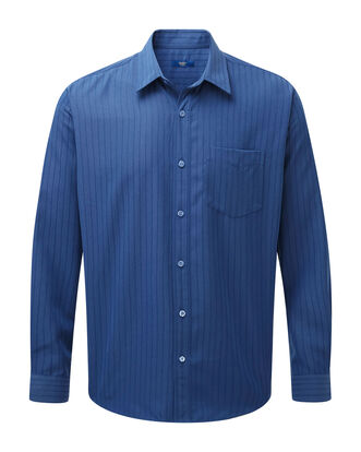 Dusk Blue Long Sleeve Soft Touch Shirt