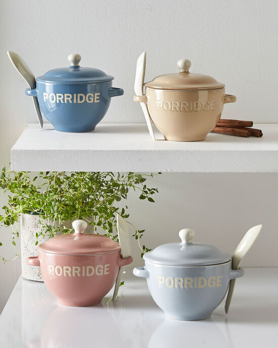 Porridge Bowl and Spoon