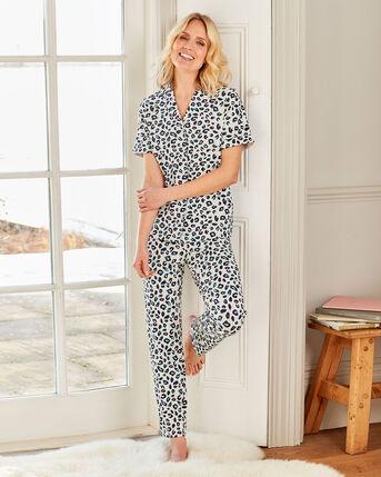 Jersey Shirt Pyjama Set
