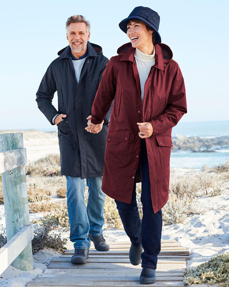 Waterproof Fleece Lined Print Parka   Casual coats for women, Cotton traders, Waterproof coat women