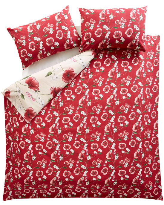 Poppy Bloom Duvet Set
