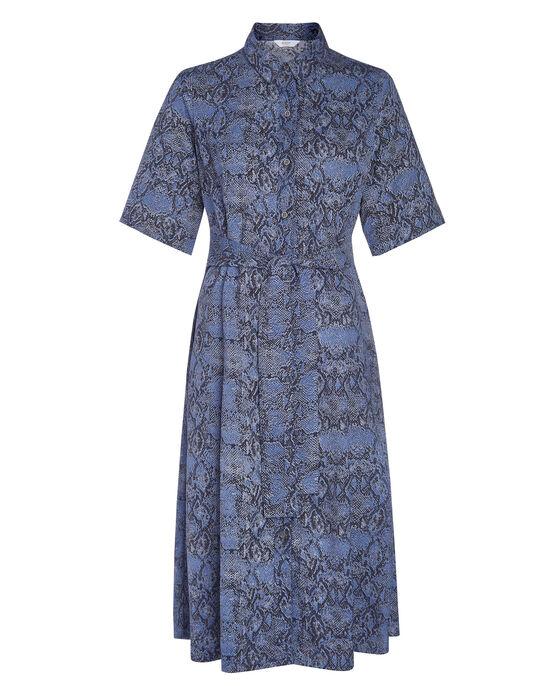 Showstopping Midi Shirt Dress