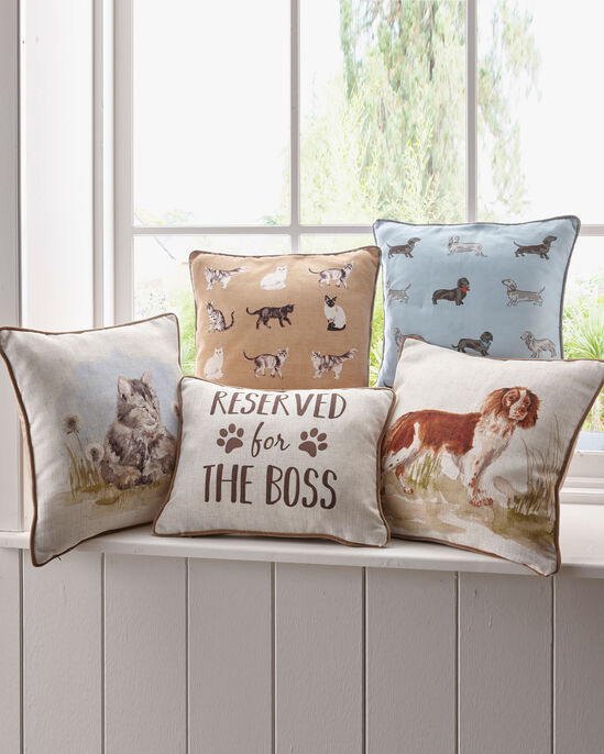 Reserved For the Boss Cushion