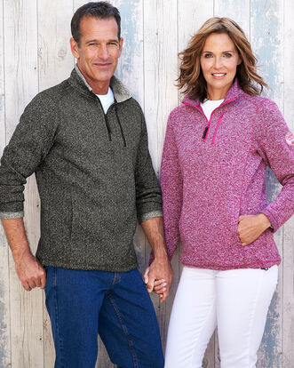 Gillamoor Fleece Half Zip Top