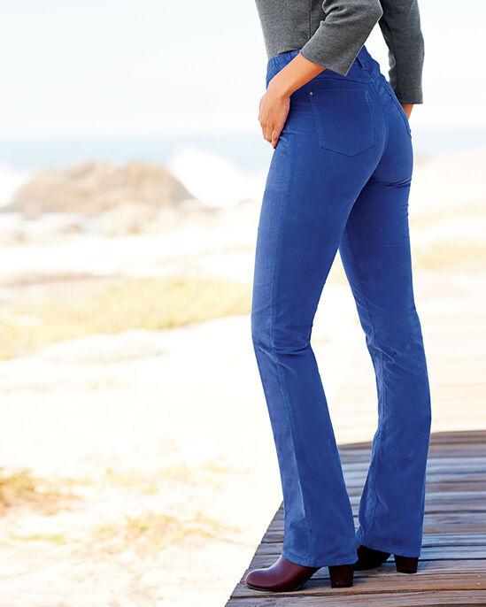 Velvet Stretch Trousers