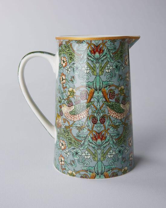 William Morris Strawberry Thief Ceramic Jug