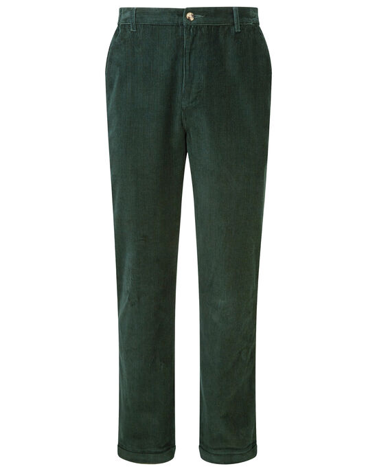Cord Flat Front Trousers