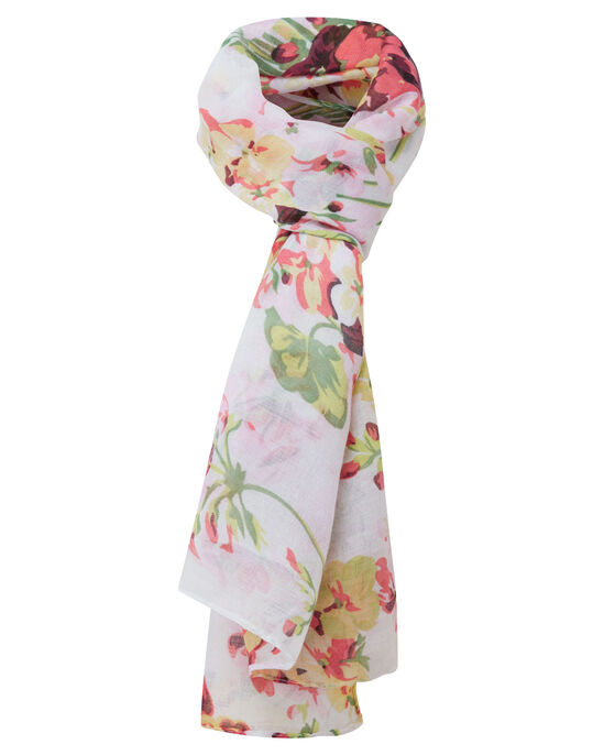 Multi Floral Scarf