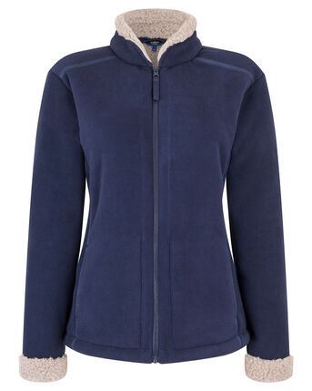 Womens Bonded Fleece Jacket