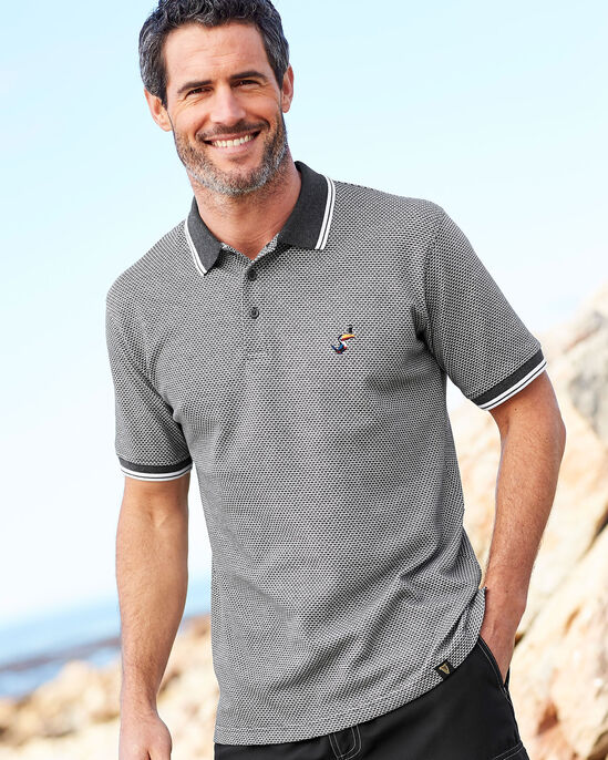 Guinness® Tipped Collar Polo Shirt